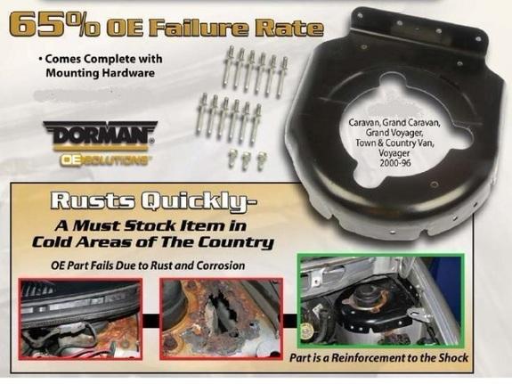Ремкомплект чашки переднего амортизатора Chrysler Town & Country 1996-2000  Ремкомплект чашки переднего амортизатора Крайслер Таун Кантри1996-2000  Ремкомплект чашки переднего амортизатора Chrysler Voyager 1996-2000  Ремкомплект чашки переднего амортизатора Крайслер Вояджер1990-2000  Ремкомплект чашки переднего амортизатора Dodge Caravan 1996-2000  Ремкомплект чашки переднего амортизатора Додж Караван1996-2000