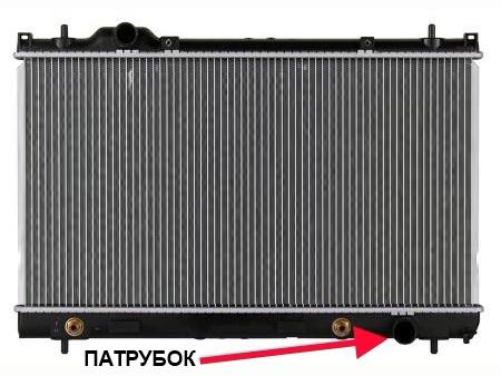 радиатор додж неон