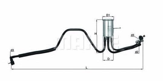 топливный фильтр вояджер караван