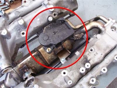мотор привода воздушной заслонки jeep 3.0 crd