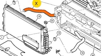 патрубок радиатора интрепид конкорд