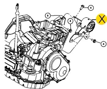 подушка двигателя Додж Неон